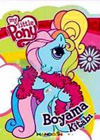 My Little Ponny Boyama Kitabı - Yeşil