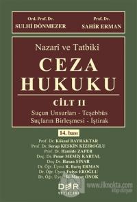 Nazari ve Tatbiki Ceza Hukuku Cilt 2 (Ciltli)