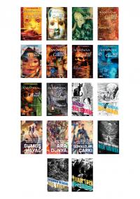 Neil Gaiman 18 Kitap Takım
