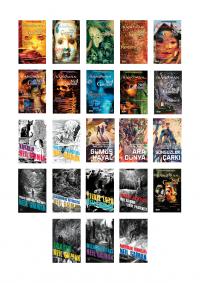 Neil Gaiman 23 Kitap Takım