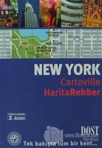 New York Cartoville Harita Rehber (Ciltli)