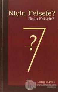 Niçin Felsefe?