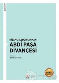 Nişancı Abdurrahman Abdi Paşa Divançesi