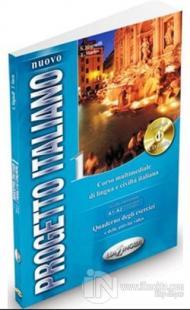 Nuovo Progetto Italiano 1 Quaderno Degli Esercizi +CD (İtalyanca Temel ve Orta-Alt Seviye)