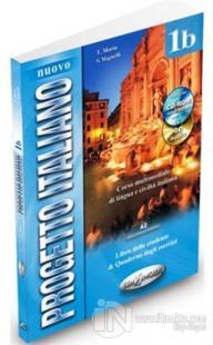 Nuovo Progetto Italiano 1b (Ders Kitabı ve Çalışma Kitabı +CD +CD ROM) İtalyanca Orta-Alt Seviye