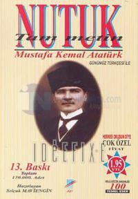 NutukTam Metin %10 indirimli Mustafa Kemal Atatürk