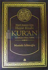 Nüzul Sırasına Göre Hayat Kitabı Kur'an / Hafız Boy - Metinsiz