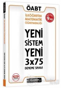 ÖABT İlköğretim Matematik Öğretmenliği Yeni Sistem 3x75 Deneme Sınavı 2020