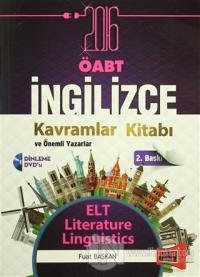 ÖABT İngilizce Kavramlar Kitabı ve  Önemli Yazarlar