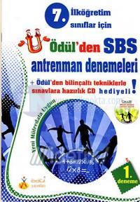Ödül'den SBS Antrenman Denemeleri İlköğretim 7. Sınıflar İçin 5 Kitap