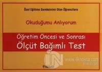 Öğretim Öncesi ve Sonrası Ölçüt Bağımlı Test (ince)