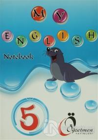 Öğretmen 5. Sınıf İngilizce Defteri - My English Notebook