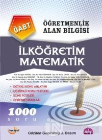 Öğretmenlik Alan Bilgisi - İlköğretim Matematik ÖABT