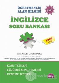Öğretmenlik Alan Bilgisi - İngilizce Soru Bankası ÖABT