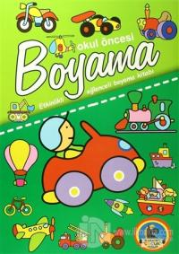 Okul Öncesi Boyama - Etkinlikli Eğlenceli Dev Boyama Kitabı (5 Kitap Takım)