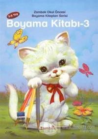 Okul Öncesi Boyama Kitapları Serisi 3