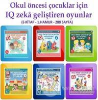 Okul Öncesi Çocuklar İçin IQ Zeka Geliştiren Oyunlar (6 kitap) %20 ind