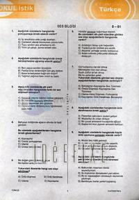OkulistikTürkçeYaprak Test8. Sınıf Kolektif