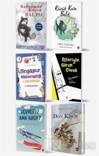Okullarda Okutulan 4. Sınıf Kitap Seti (6 Kitap Takım)