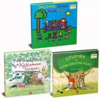 Okumayı Seviyorum Set - Organik Kitap (3 Kitap Takım) (Ciltli)