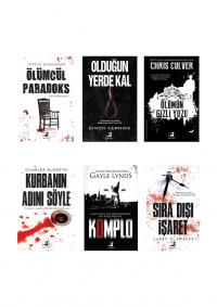 Olimpos Polisiye Seti 6 Kitap Takım Kolektif