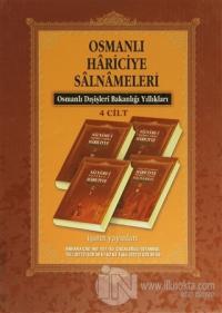 Osmanlı Hariciye Salnameleri (4 Kitap Takım) (Ciltli)