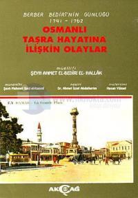 Osmanlı Taşra Hayatına İlişkin Olaylar