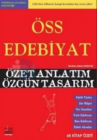 ÖSS Edebiyat Özet Anlatım Özgün Tasarım