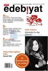 Özgür Edebiyat Dergisi Sayı: 34