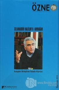 Özne Felsefe Bilim ve Sanat Yazıları Özel Sayı 2012