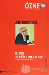 Özne Felsefe Bilim ve Sanat Yazıları Sayı: 14 - Bahar 2011