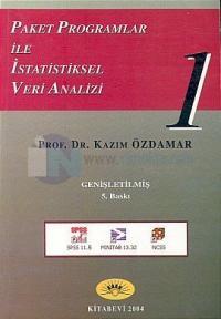 Paket Programlar ile İstatistiksel Veri Analizi 1