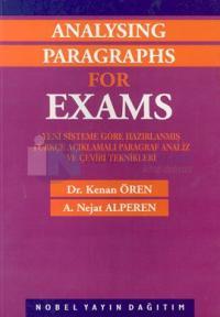 Paragraf Analiz ve Çeviri TeknikleriAnalysing Paragraphs For Exams