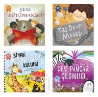 Pedagog Onaylı Uyku Vakti Hikayeleri Seti - 2 (4 Kitap Takım)