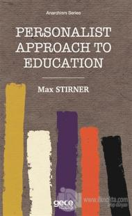 Personalist Approach To Education