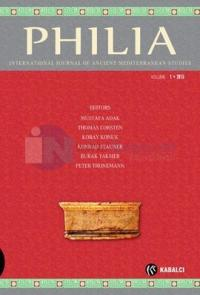 Philia Dergisi Sayı 1 Kolektif