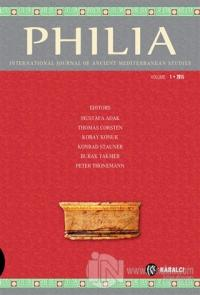 Philia : Volume 1 2015 (Ciltli)