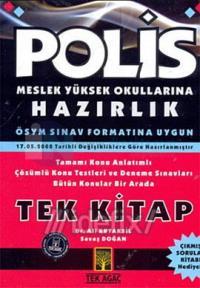 Polis Meslek Yüksek Okullarına Hazırlık Tek Kitap