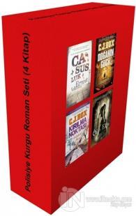 Polisiye Kurgu Roman Seti (4 Kitap Takım)