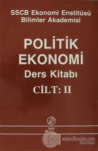 Politik Ekonomi Ders Kitabı Cilt: 2