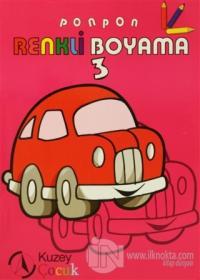 Ponpon Renkli Boyama 3