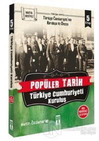 Popüler Tarih - Türkiye Cumhuriyeti Kuruluş (5 Kitap Takım)
