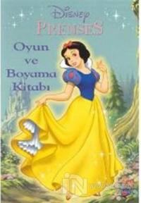 Prenses Oyun Ve Boyama Kitabı Derleme