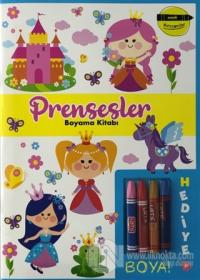 Prensesler Boyama Kitabı - Minik Ressamlar