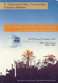 Proceeding of the Fourth International Congress on Cyprus Studies