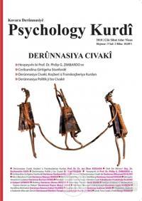 Psychology Kurdi Çile - Sıbat - Adar - Nisan Hejmar 5 2018