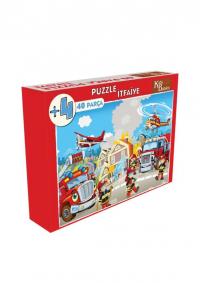 40 Parça Puzzle İtfaiye