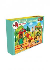 60 Parça Puzzle Oyun Vakti
