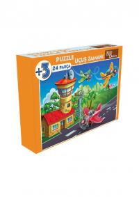 24 Parça Puzzle Uçuş Zamanı