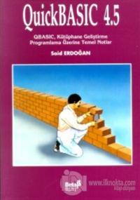 QuickBASIC 4.5 QBASIC, Kütüphane Geliştirme Programlama Üzerine Temel Notlar